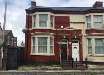 Thumbnail 3 bed end terrace house for sale in 3 Wadham Road, Bootle, Merseyside