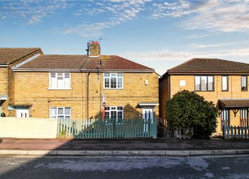 Thumbnail 2 bed end terrace house to rent in Dongola Road, Strood, Kent