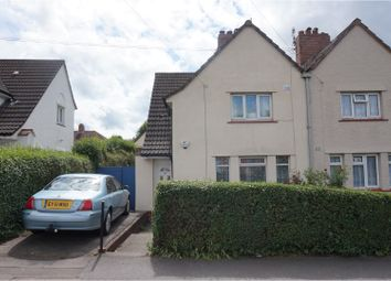 Thumbnail 3 bed semi-detached house for sale in Wedmore Vale, Bedminster