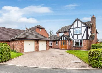 Thumbnail 4 bed detached house for sale in Paddocks Green, Mossley, Congleton