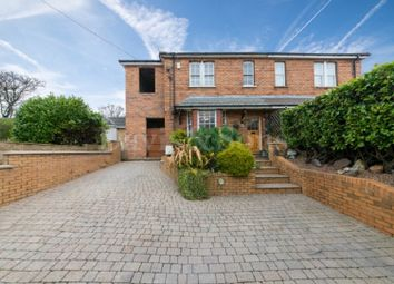 Thumbnail 3 bed semi-detached house for sale in Western Valley Road, Rogerstone, Newport.
