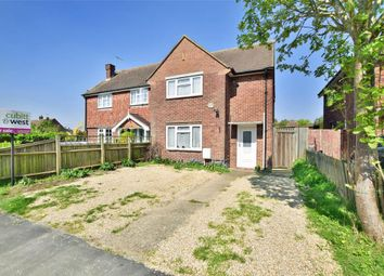 Thumbnail 2 bed semi-detached house for sale in The Ridgeway, Horley, Surrey