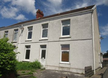 Thumbnail 4 bedroom semi-detached house for sale in Frederick Place, Llansamlet, Swansea.