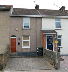 Thumbnail 2 bed terraced house for sale in Springhead Road, Northfleet