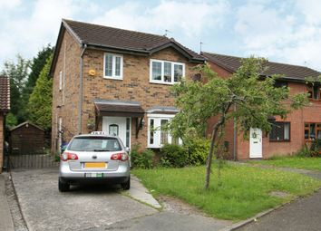 Thumbnail 3 bedroom detached house for sale in Thoralby Close, Manchester