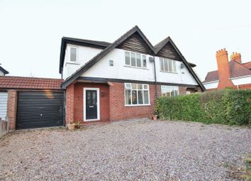 Thumbnail 3 bed semi-detached house for sale in Allport Road, Bromborough, Wirral
