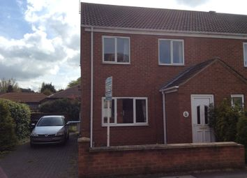 Thumbnail 3 bed end terrace house to rent in Dog & Duck Lane, Morton, Gainsborough