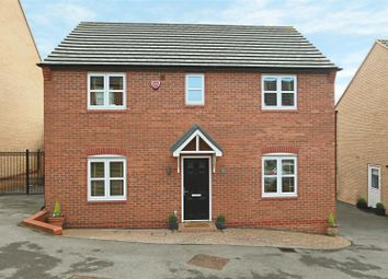 Thumbnail 4 bed detached house for sale in Pegswood Drive, Arnold, Nottingham