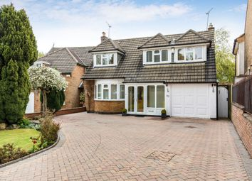 Thumbnail 4 bedroom detached house for sale in Ringers Spinney, Oadby, Leicester