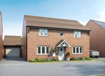 "Thumbnail 4 bed detached house for sale in ""Thornbury"" at Armstrongs Fields, Broughton, Aylesbury"