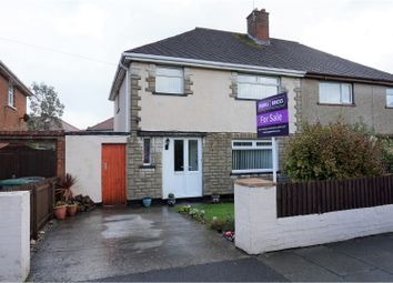 Thumbnail 3 bed semi-detached house for sale in Anglesey Road, West Kirby