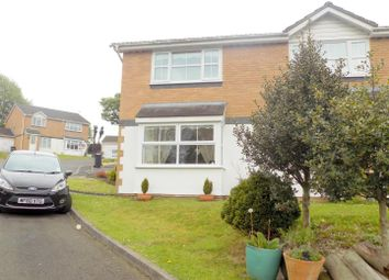 Thumbnail 2 bed semi-detached house for sale in Maes Y Meillion, Skewen, Neath
