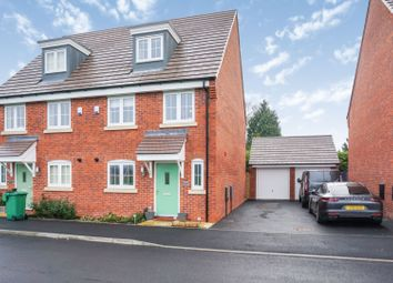 Thumbnail 4 bed semi-detached house for sale in Burnham Road, Wythall