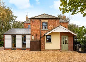 Thumbnail 3 bed detached house for sale in Drain Road, Newborough, Peterborough