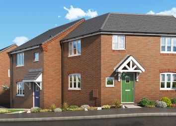 "Thumbnail 3 bedroom property for sale in ""The Mulberry At Mill Farm, Tibshelf"" at Mansfield Road, Tibshelf, Alfreton"
