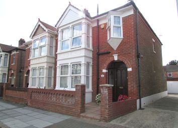 Thumbnail 3 bedroom semi-detached house for sale in Amberley Road, Hilsea, Portsmouth