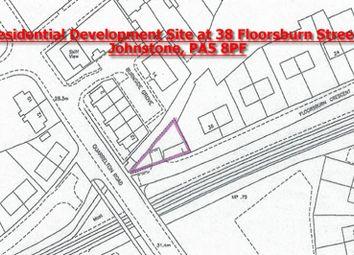 Thumbnail Land for sale in 38, Floorsburn Crescent, Johnstone, Renfrewshire PA58Pf