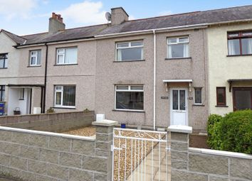 Thumbnail 3 bedroom terraced house for sale in Ael Y Garth, Caernarfon