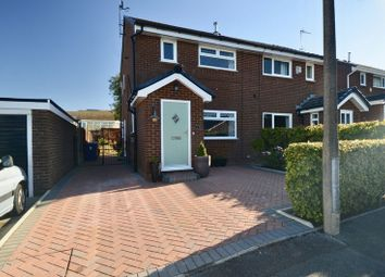 Thumbnail 3 bed semi-detached house for sale in Icconhurst Close, Baxenden, Accrington
