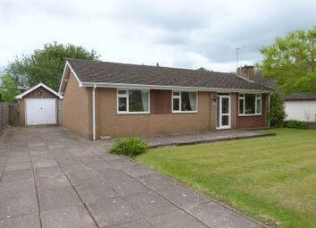 Thumbnail 3 bed detached bungalow for sale in Holmes Chapel Road, Congleton