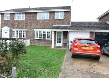 Thumbnail 3 bed semi-detached house for sale in Crowson Way, Deeping St James, Market Deeping, Lincolnshire