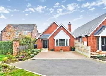Thumbnail 3 bed detached bungalow for sale in Crick Road, Hillmorton, Rugby