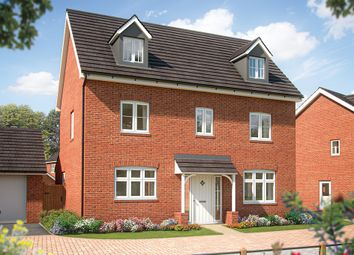 "Thumbnail 5 bed detached house for sale in ""The Yew"" at Hambleton Way, Winnersh, Wokingham"