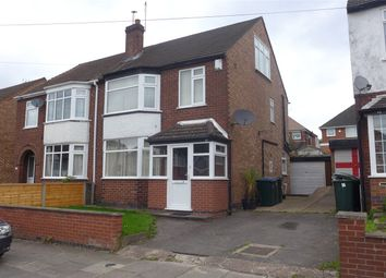 Thumbnail 4 bed semi-detached house for sale in Cecily Road, Cheylesmore, Coventry, West Midlands