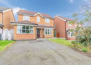Thumbnail 4 bed detached house for sale in Mallow Close, Leicester