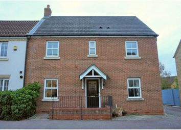Thumbnail 4 bed semi-detached house for sale in Christie Drive, Huntingdon