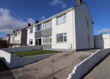 3 bed semi-detached house for sale in Maker Road, Torpoint, Cornwall PL11