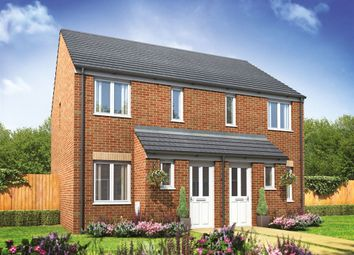 "Thumbnail 2 bed semi-detached house for sale in ""The Alnwick"" at Arcaro Road, Andover"
