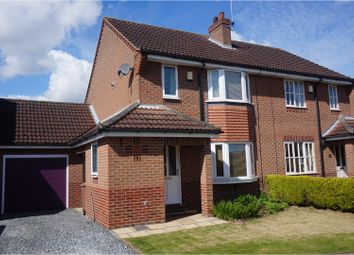 Thumbnail 3 bed semi-detached house for sale in Wheelwright Close, Sutton On Derwent