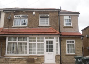 Thumbnail 4 bed terraced house to rent in Fitzroy Road, Bradford