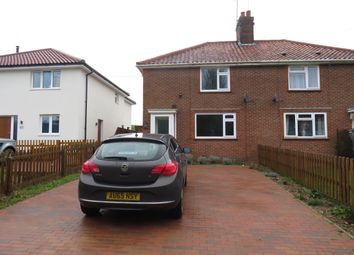 Thumbnail 3 bed semi-detached house to rent in Brook Lane, Needham