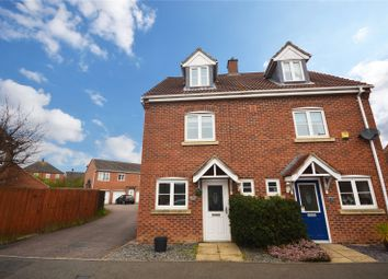 Thumbnail 3 bed semi-detached house for sale in Elder Close, Witham St. Hughs, Lincoln