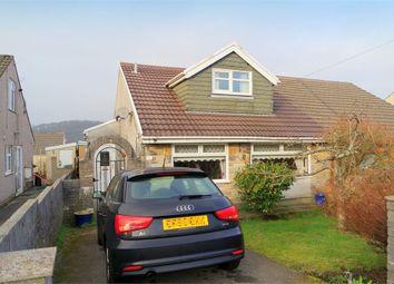Thumbnail 3 bed semi-detached bungalow for sale in Pond Mawr, Garth, Maesteg, Mid Glamorgan