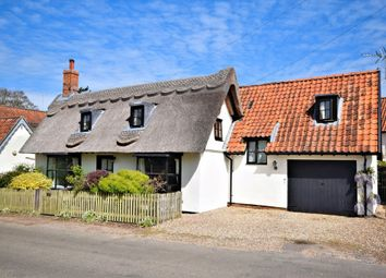 Thumbnail 3 bed detached house for sale in The Street, Shotesham All Saints, Norwich