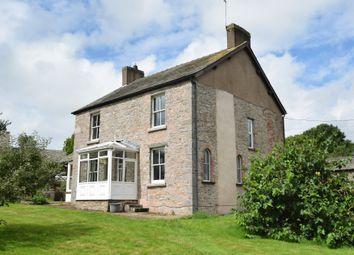 Thumbnail 4 bed farmhouse for sale in Broughton Road, Dalton-In-Furness, Cumbria