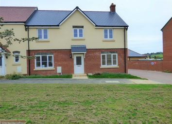 Thumbnail 4 bed end terrace house for sale in Curtis Way, Weymouth