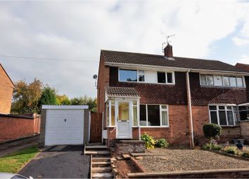 Thumbnail 3 bed semi-detached house for sale in Comberton Park Road, Kidderminster
