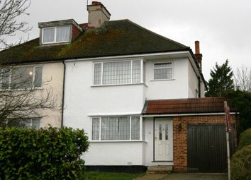 Thumbnail 3 bed semi-detached house to rent in Potter Street, Northwood
