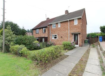 Thumbnail 2 bed semi-detached house for sale in Wimbourne Crescent, Newbold, Chesterfield