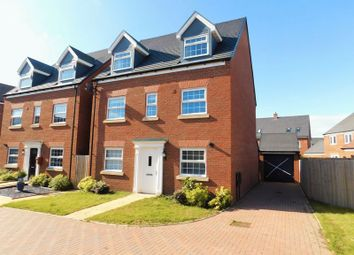 Thumbnail 5 bed detached house for sale in Holden Park, St Mary's Gate, Stafford