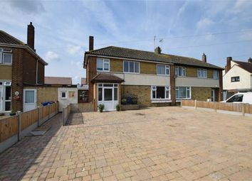 Thumbnail 3 bed semi-detached house for sale in Princess Margaret Road, East Tilbury, Essex