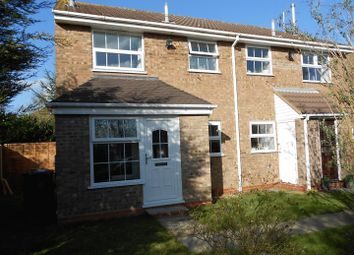 Thumbnail 1 bed terraced house to rent in Livingstone Avenue, Perton, Wolverhampton