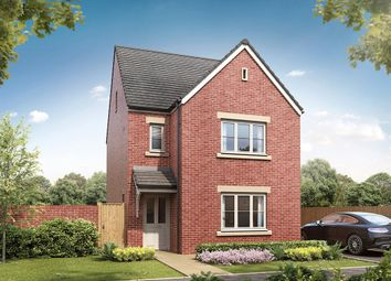 "Thumbnail 4 bed detached house for sale in ""The Lumley"" at Spetchley, Worcester"