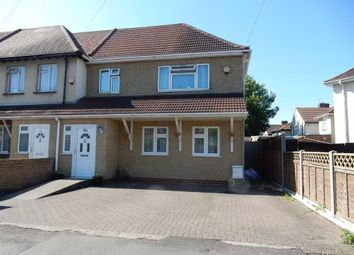 Thumbnail 3 bed town house for sale in Carlyle Avenue, Southall, Middlesex