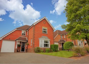 Thumbnail 4 bed detached house for sale in Normandie Close, Ludlow