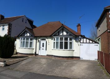 Thumbnail 2 bed detached bungalow for sale in Oaklands Avenue, Littleover, Derby